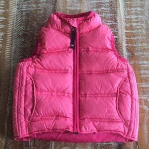 REI toddler goose down filled puffer vest